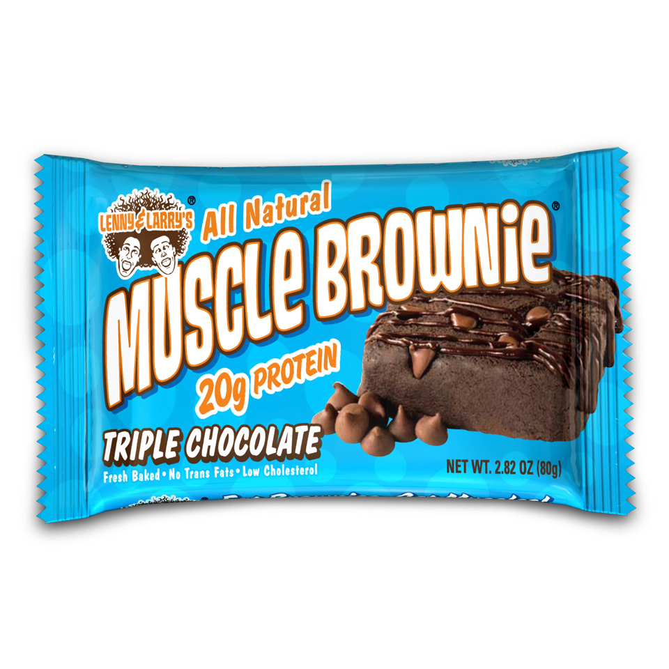 Muscle Brownie Nutrition Lenny Larry Muscle Brownie