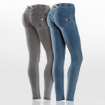 Freddy WR.UP Skinny - Ljus & Grå Denim