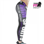 MM Hardcore Tights Wmn, Black/Lilac