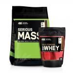 Optimum Nutrition Serious Mass + Bonusprodukt