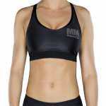 MM Sports Bra, Black/Gun Metal
